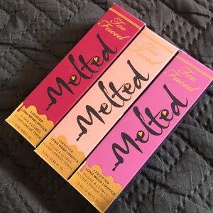 Too Faced Melted Lipstick bundle